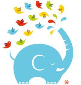 Twitter Elephant