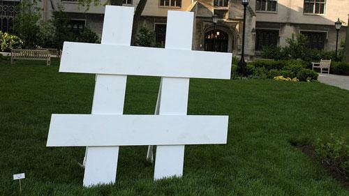 Hashtag Pound Sign