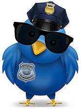 Twitter Police Bird
