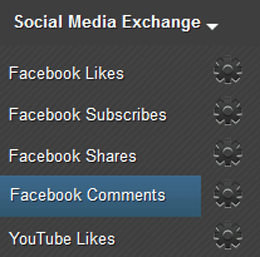 Earn Facebook Comment Page