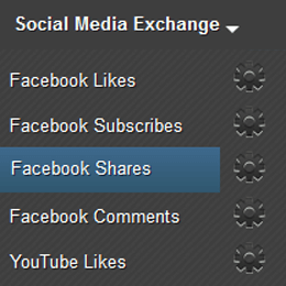 Earn Facebook Share Page