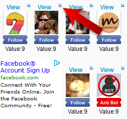 Facebook subscribe Skip Button