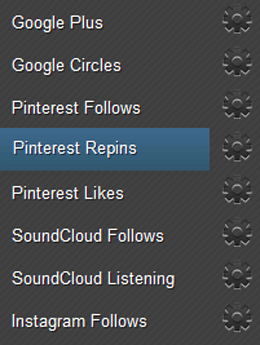 Earn Pinterest Repins Page