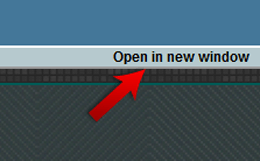 Open Website in new Window