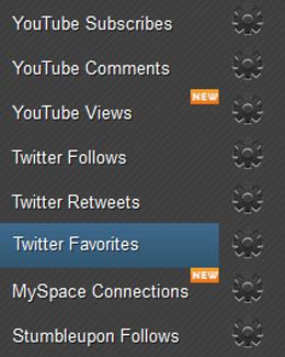 Earn Twitter Follows  Page