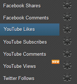 Earn YouTube Likes Page