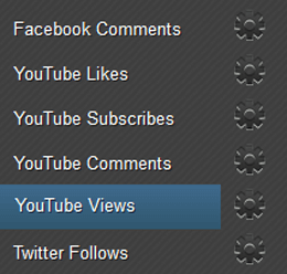 Earn YouTube Views Page