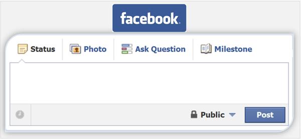 Missing Facebook Post Form